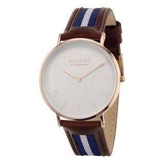 Axcent of Scandinavia Career rosa forgyldt rustfri stål Quartz Unisex ur, model IX5700R-09